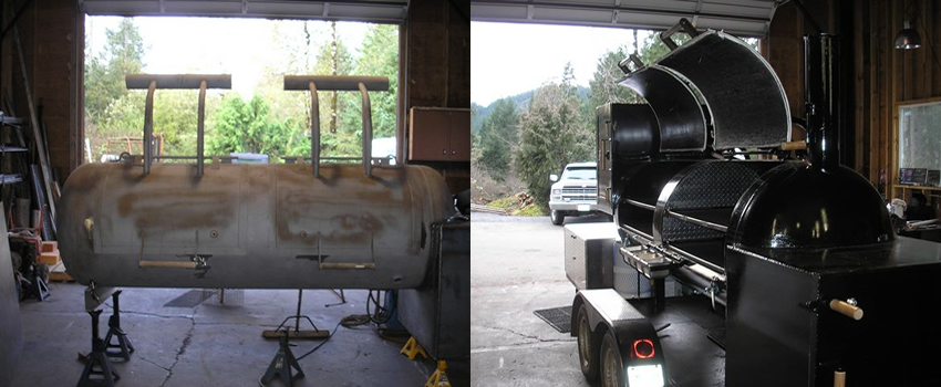 1500 Series BBQ Before & After